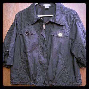 Ann Taylor bomber jacket sz 14